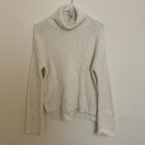 Kendall & Kylie chunky white knitted sweater